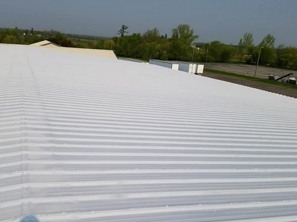 roof coating service by Polar Insulating
